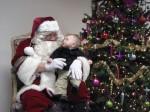 Santa, I'm gonna pull on your beard.